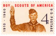 Boy Scouts of America 50-Year Stamp